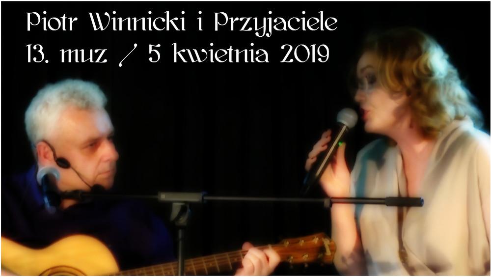 Piotr Winnicki & MagiCall w szczecińskim Domu Kultury '13 muz'!