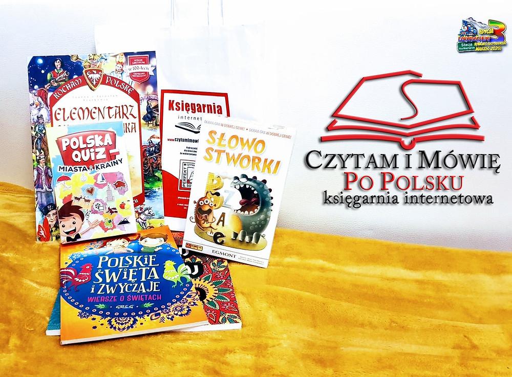 Księgarnia Mówię i Czytam po Polsku - sponsorem Nagród Publiczności!