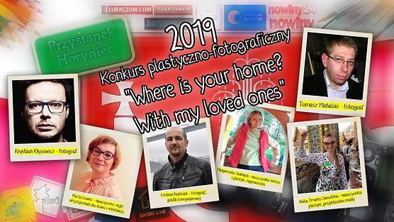 """Jurorzy konkursu plastyczno-fotograficznego """"Where is your home? With my loved ones"""" w Polsce."""