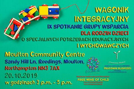 Wagonik Integracyjny - IX Spotkanie - 20.10.2019