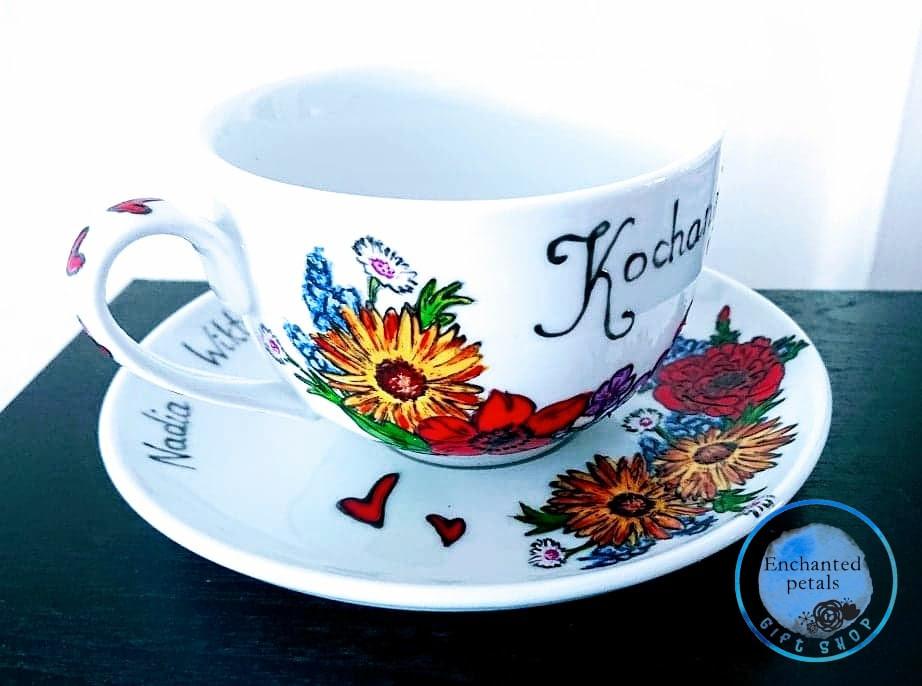 Ręcznie malowane upominki dla Laureatów Przystanku Horyniec od Enchanted Petals Gift Shop!