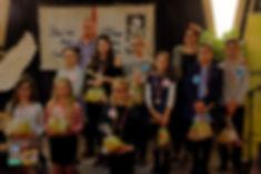 Hania, Julka, Laura - Juror pan Piotr Słonina- Sofia, Laura, Juliusz, Marysia - Jurorka pani Agnieszka Niedzielska, Szymon i Maksym.