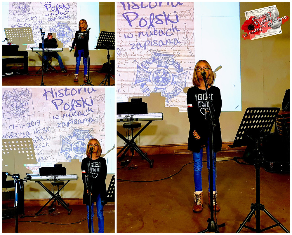 """Nicola Gawłowska tym razem zaśpiewa nie tylko """"Rotę""""."""