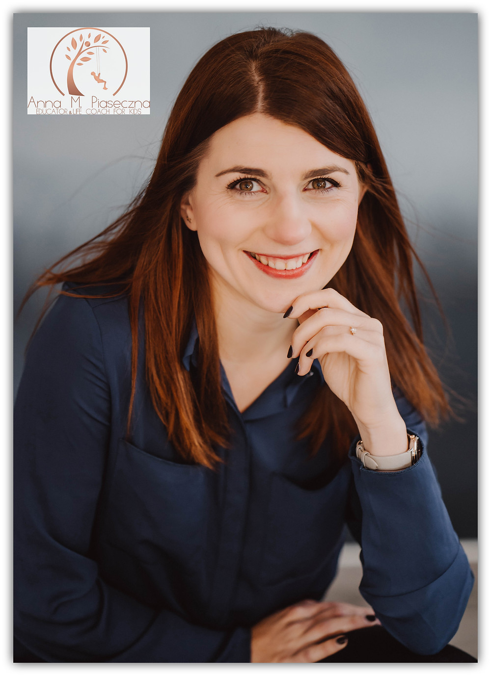 pani Anna M. Piaseczna, trener emocji i relacji, założycielka Free Mind of Child.