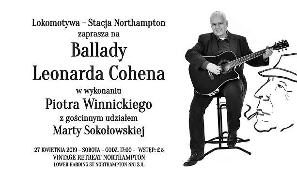 Ballady Leonarda Cohena w wykonaniu Piotra Winnickiego