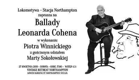 Ballady Leonarda Cohena wg Piotra Winnickiego