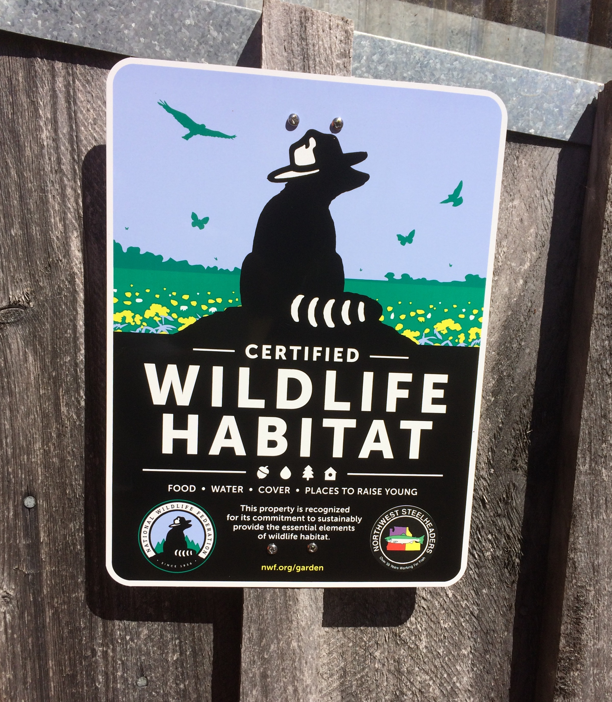 wildlife sign