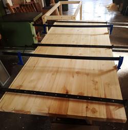 fabricación mesa