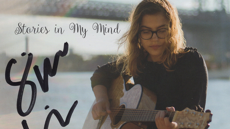 Autographed Stories in My Mind CD