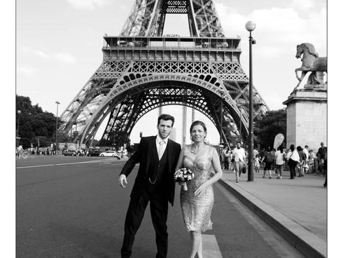 Elisa & François, leur mariage à Paris - 20.07.2013