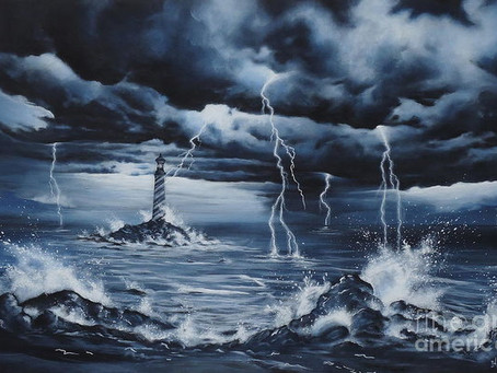The Lighthouse in the Storm