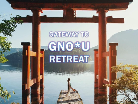 "Step through the ""Gateway To Gno*U"" Retreat."