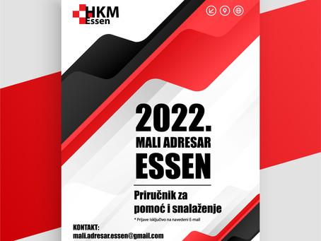 MALI ADRESAR ZA SNALAŽENJE / ESSEN / 2022. (ADRESAR DJELATNOSTI)