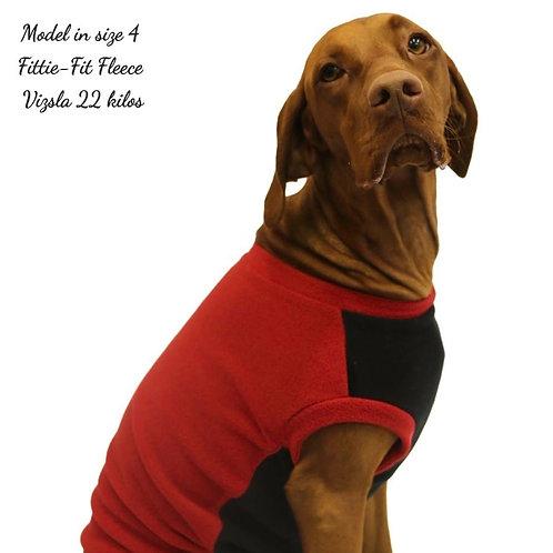Fittie-Fit Fleece ROSSO RED