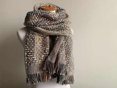 FIRESIDE HUCK SCARF - 100% COTTON #3