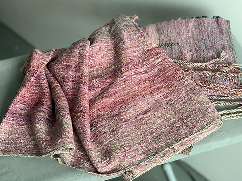 2.2m RING SLING PIECE - PINK EGYPTIAN COTTON WEFT