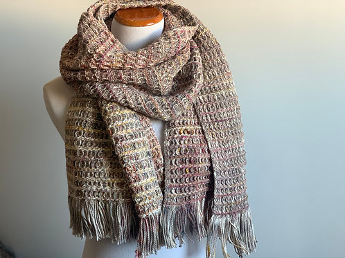 WAFFLE SCARF - 100% COTTON