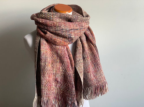 BLUEBERRY SCARF - THICK COTTON WEFT