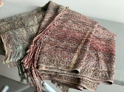 2.8m RING SLING PIECE - CHOCOLATE EGYPTIAN COTTON WEFT