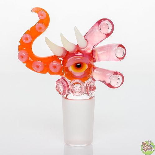 Salt Slide Orange Crayon/Telemagenta Light