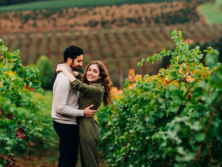 Joshua & Lindsey: Surprise Proposal at Willamette Valley Vineyards.