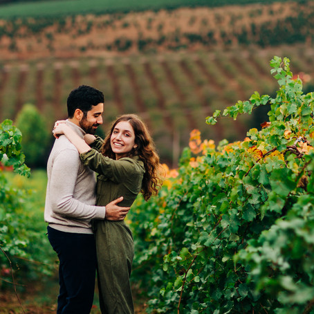 Joshua & Lindsey: Surprise Proposal at Willamette Valley Vineyards.