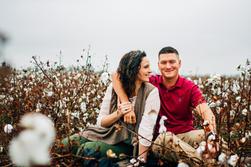 engaged couple cotton feild-10.jpg