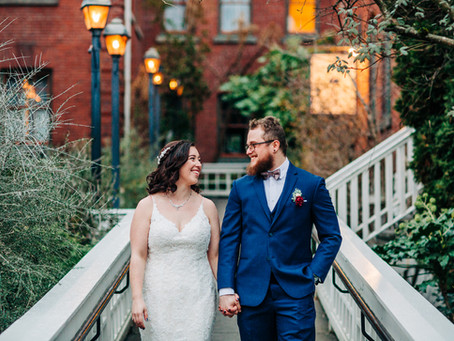 Alex and David were married on the 28th of February within Blackberry Hall, at McMenamins Edgefield.