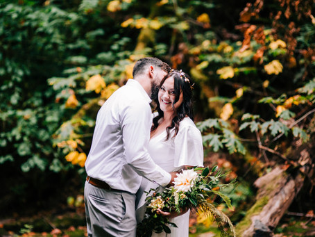 Amber & Brians Woodland Wedding