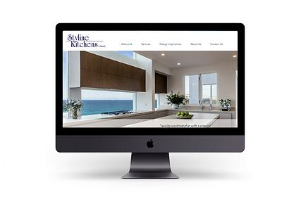 Web designer based in sydney, interior designer website