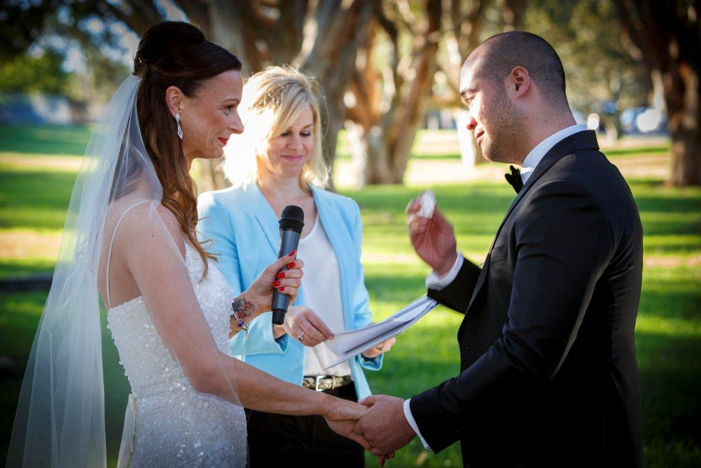 Sydney Civil Wedding Ceremony offici