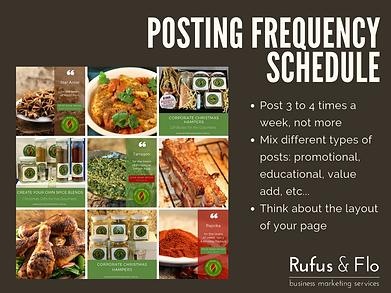 Social Media tips - how often to post