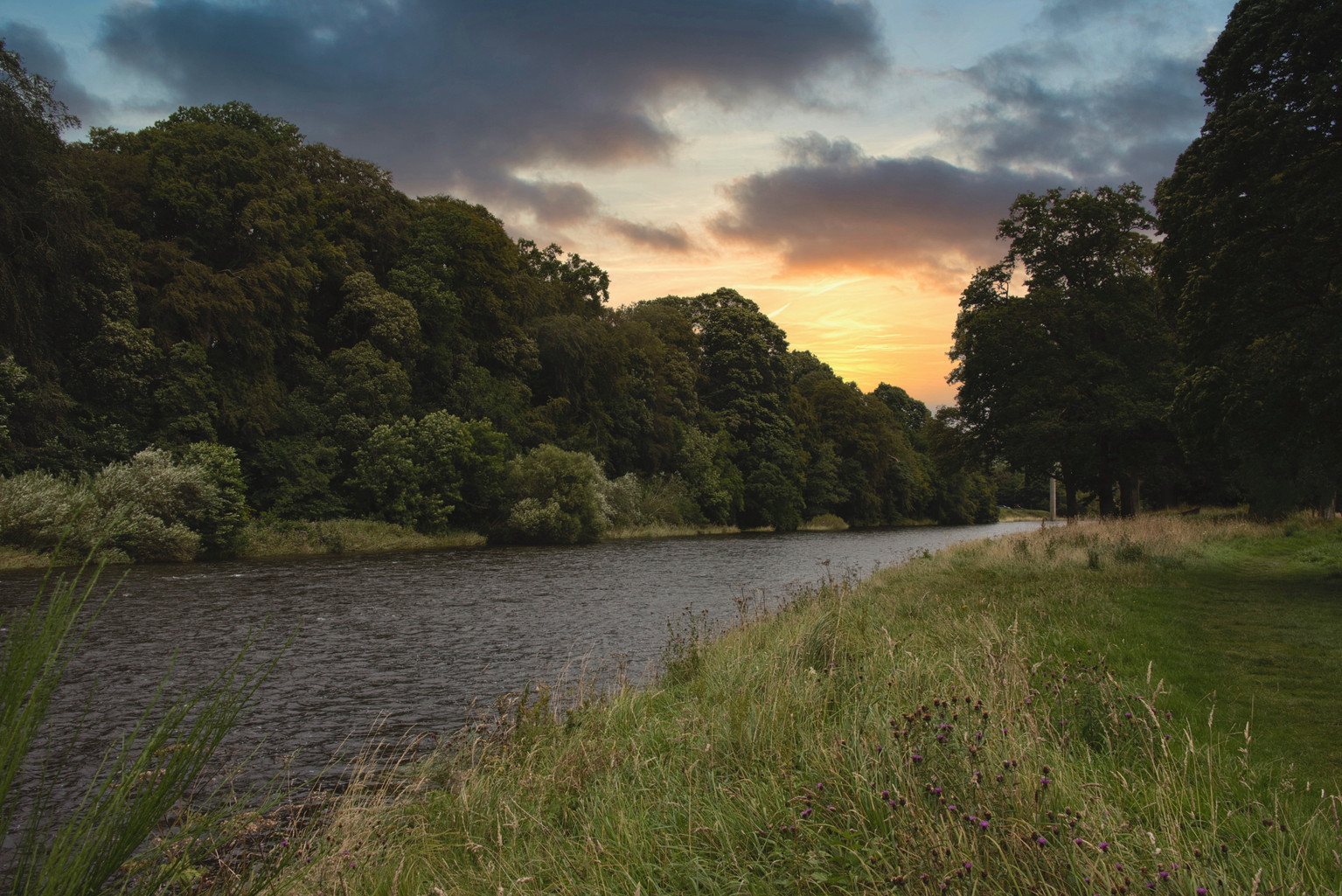 The River Tweed, Scotland