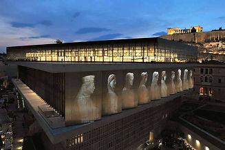 El nuevo Museo de la Acrópolis.