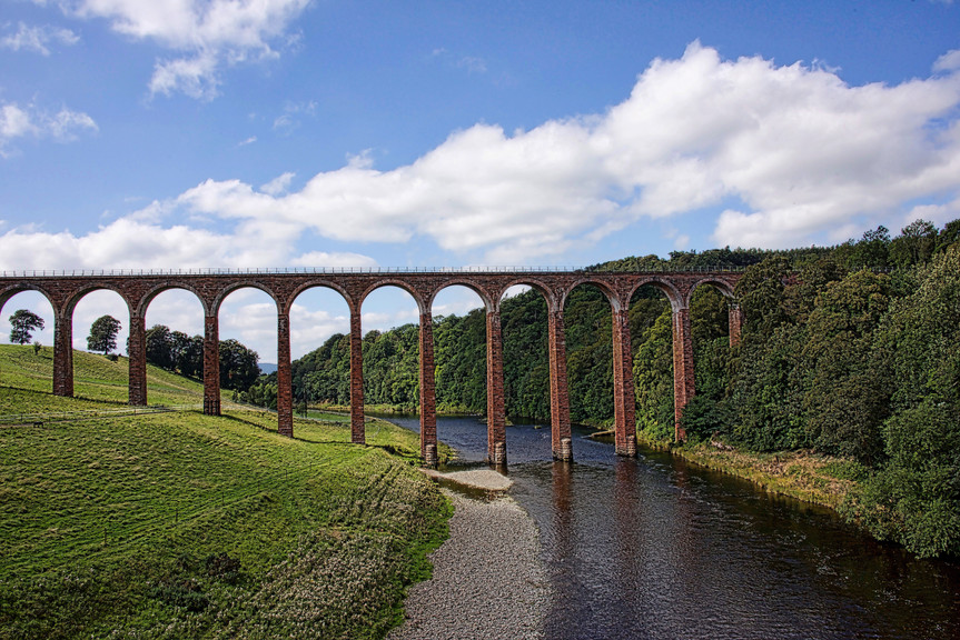 Leaderfoot Viaduct, Scotland