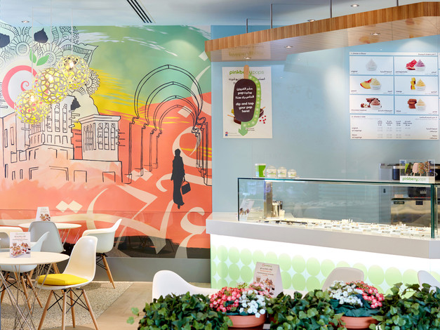 PINKBERRY MALL OF THE EMIRATES