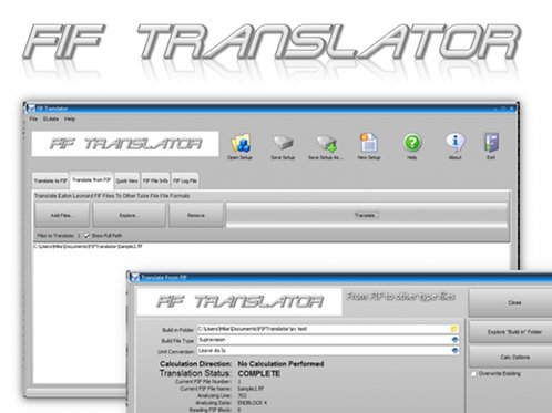 FIF Translator Software