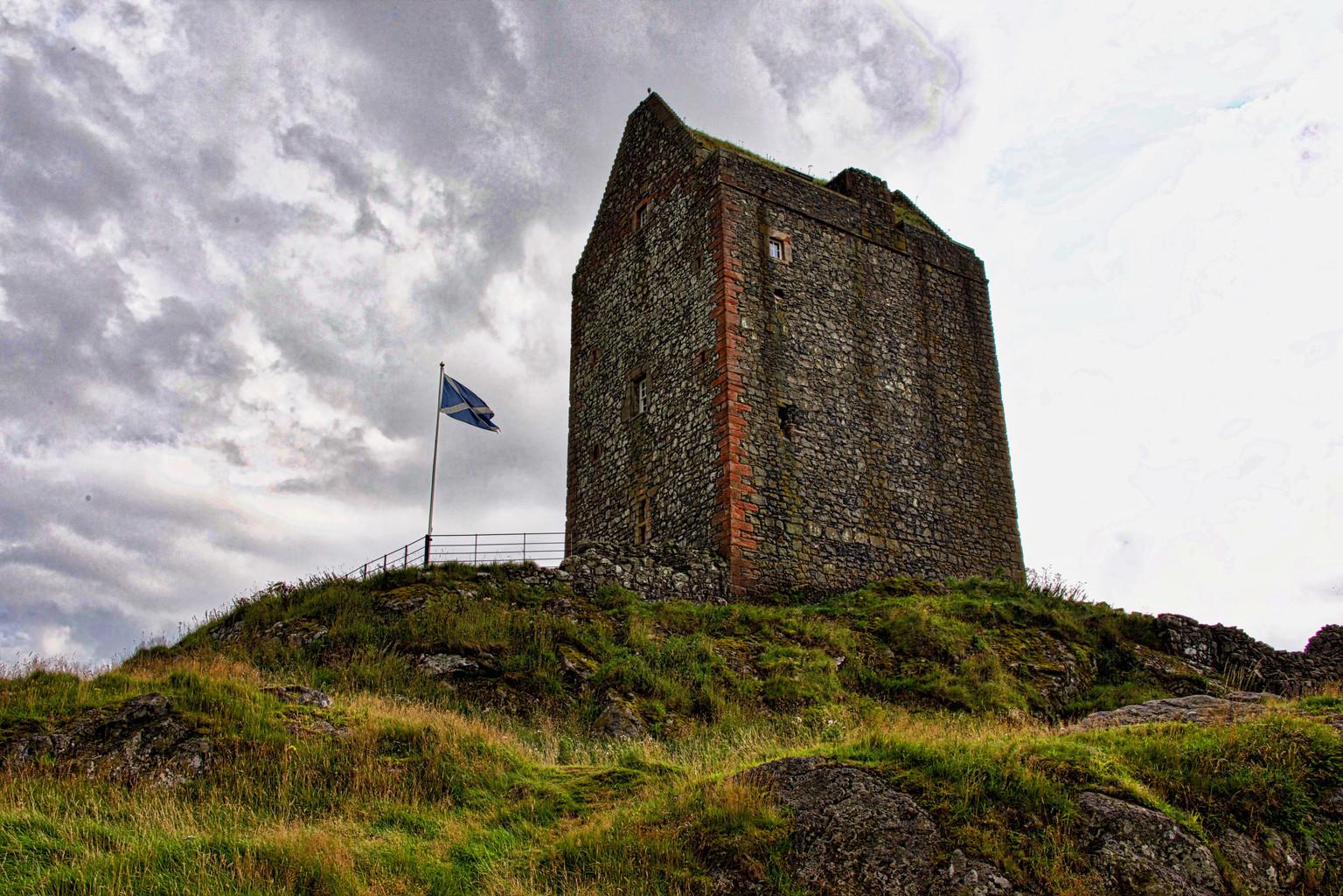 Smailholm Castle, Scotland