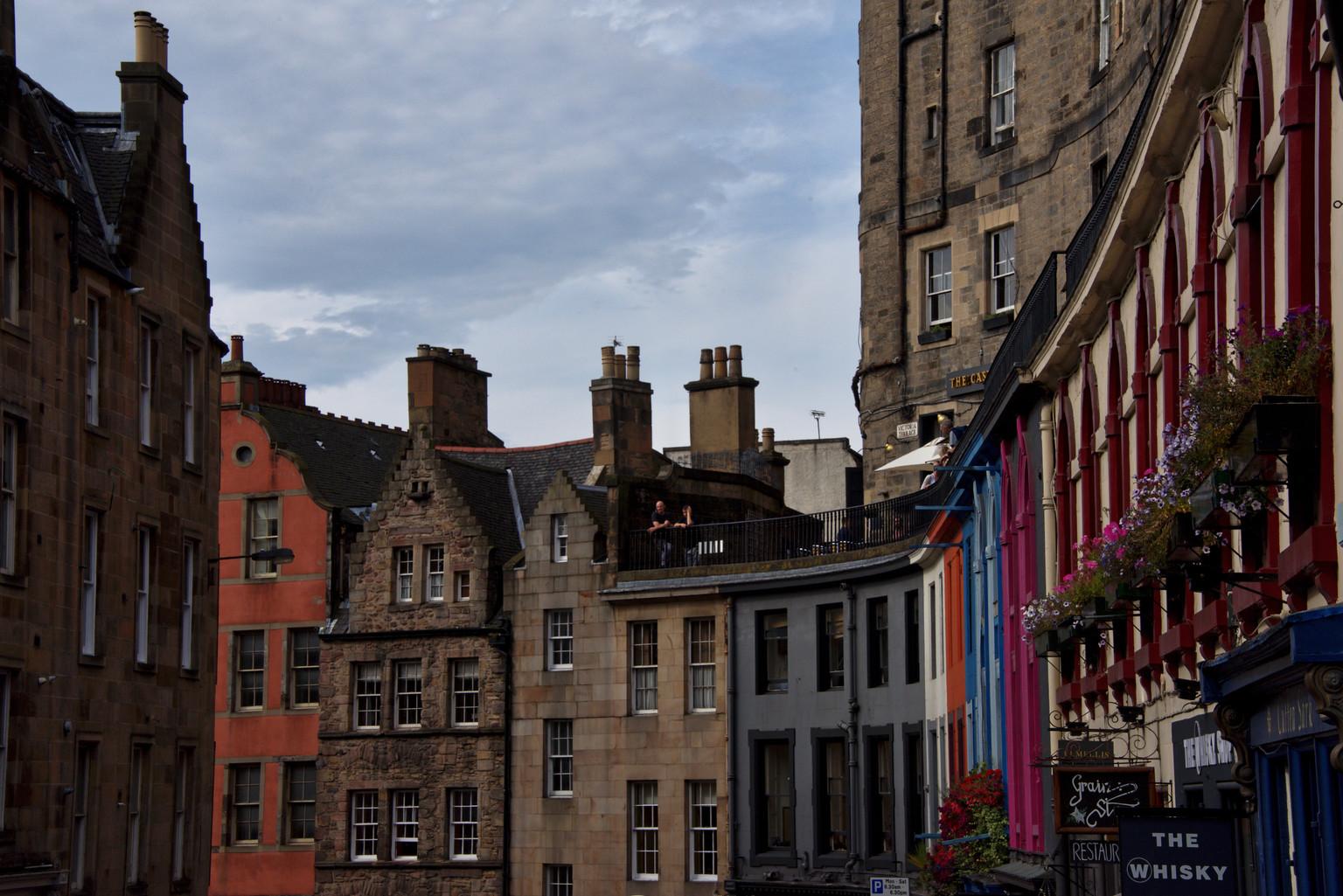 Edinburgh Street, Scotland