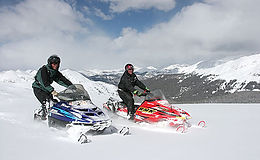 CONTINENTAL DIVIDE RIDE (5 HOUR TOUR WITH LUNCH 2 machine mimimum) Reservations Required
