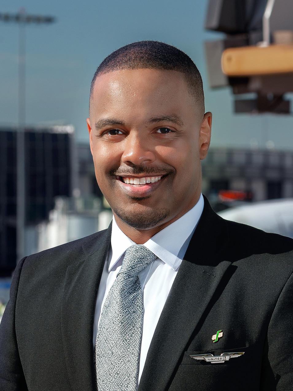 Dante Harris  President of AFA-CWA Council 12 - LAX
