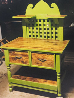 Potters Table With Drawers