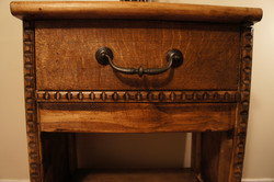 Hall Side Table w/ Shoe Rack