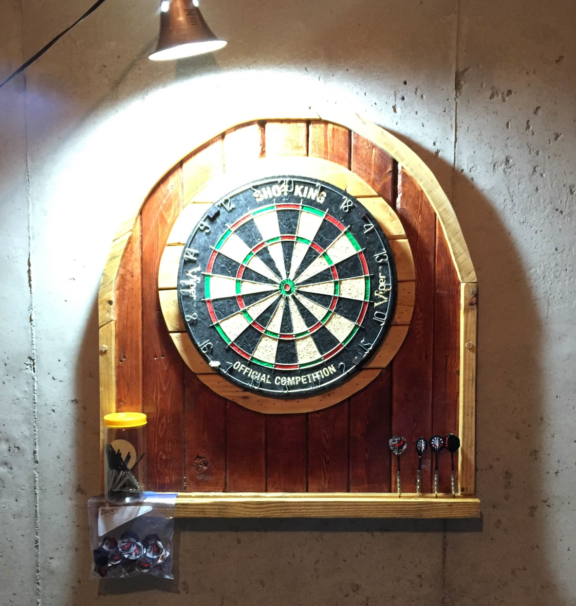 Dart Board Wall Mount