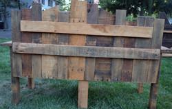 Mismatched Bench