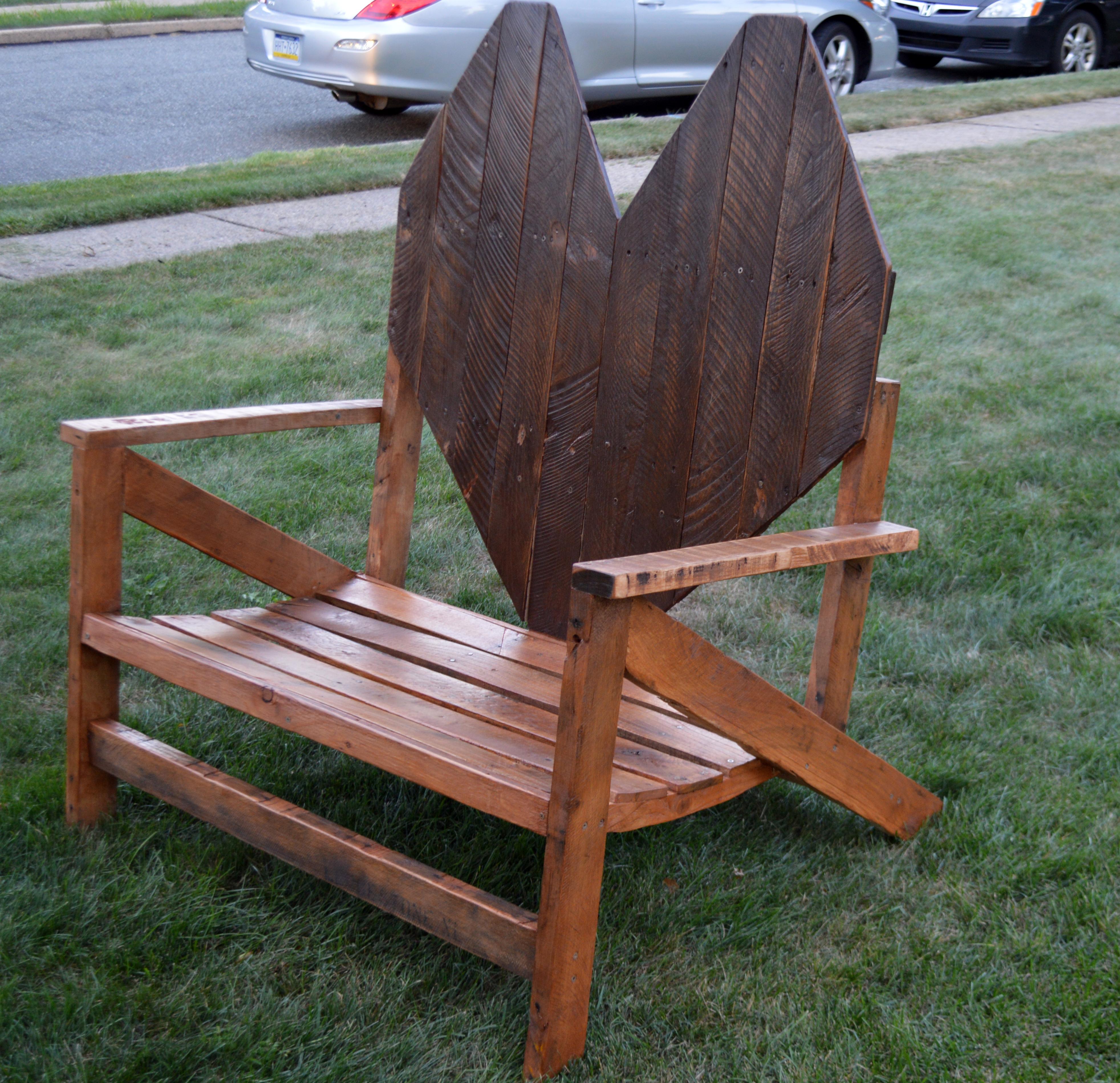Love Seat Adirondack