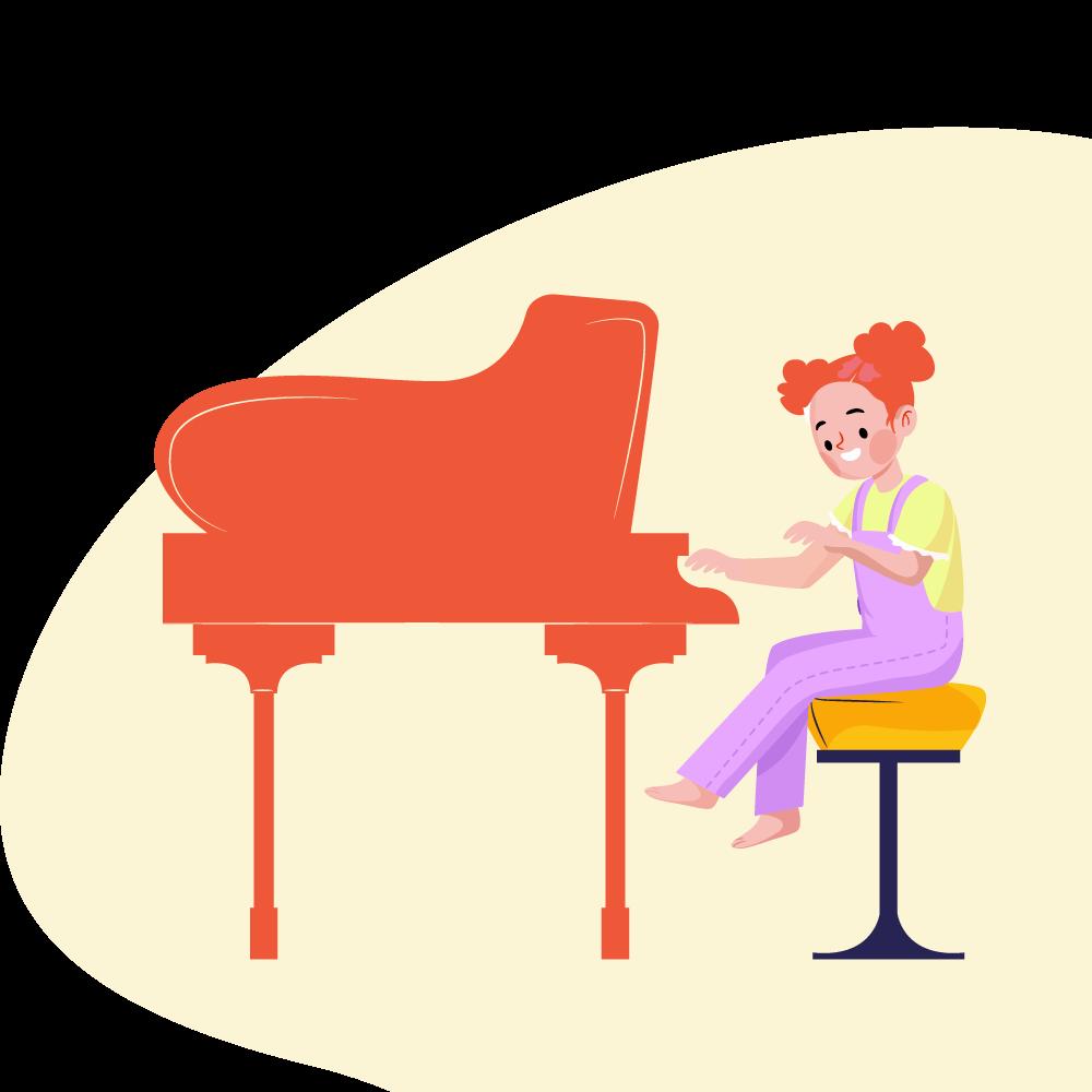 Çocuk Piyano Özel Dersi