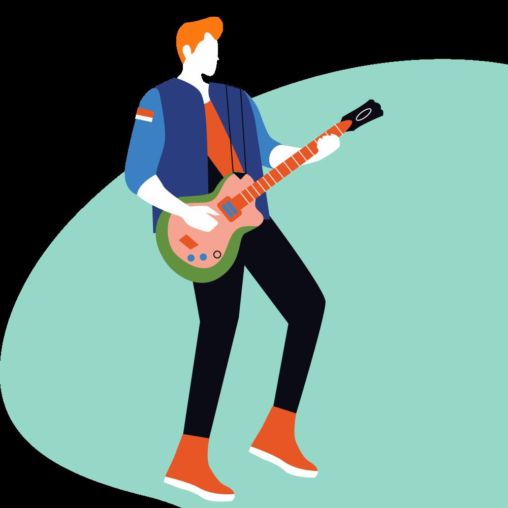 Özel Elektro Gitar Dersleri