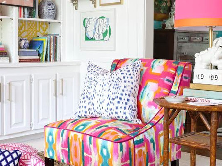 Infusing Bright Summer Colors Into Your Decor