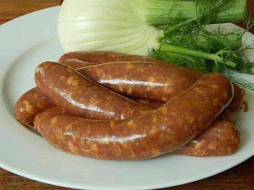 Saucisses italiennes de porc & fenouil - Spicy Italian pork sausages & fennel